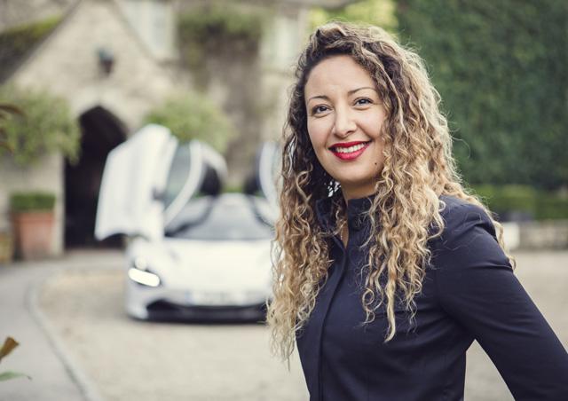 mclaren adds amel boubaaya to the new role of head of lifestyle